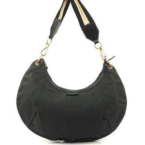 Auth Gucci Canvas Hobo Shoulder Bag #1123G40